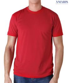 Amaris Kaos Polos - Kaos Merah Polos - Unisex