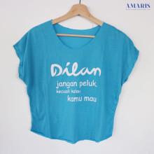 Amaris Fashion - Kaos Crop Dilan Murah