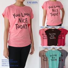 Amaris Fashion - Kaos Kalong / Batwing Tshirt - Kaos Atasan Wanita