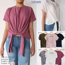 Amaris Fashion - Blouse Bow Tie - Baju Atasan Wanita Fashionable