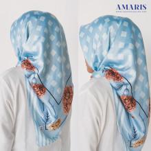 Amaris Fashion - Jilbab Satin Umama Velvet - Hijab Segiempat Murah