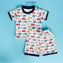 Amaris Fashion - Setelan Piyama Bayi - Baju Pajamas Bayi - Baju Bayi