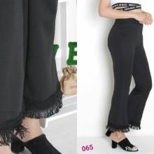 Amaris Fashion - Celana Cutbray Scuba/Celana Raffle Pants - Celana Kulot Wanita