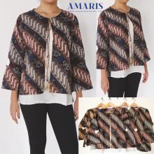 Amaris Fashion - Batik Rompi - Blouse Batik Wanita