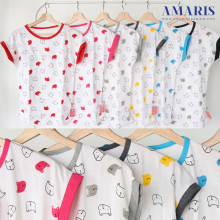 Amaris Fashion - Kaos Kalong / Batwing Tshirt - Kaos Atasan Wanita Teddy Bear Fullprint List
