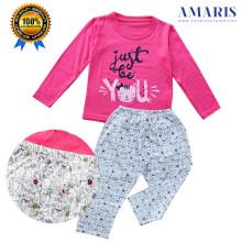 Amaris Fashion - Setelan Piyama Anak Perempuan - Baju Tidur Anak - Just Be You