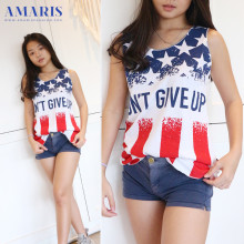 Amaris Fashion - Singlet Dewasa Dont Give Up