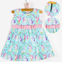 Amaris Fashion - Dress Baby - Dress Anak 1-3 Tahun - Mini Dress - Dress Unicorn Tosca
