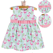Amaris Fashion - Dress Anak 1-3 Tahun - Mini Dress - Dress Flamingo Tosca