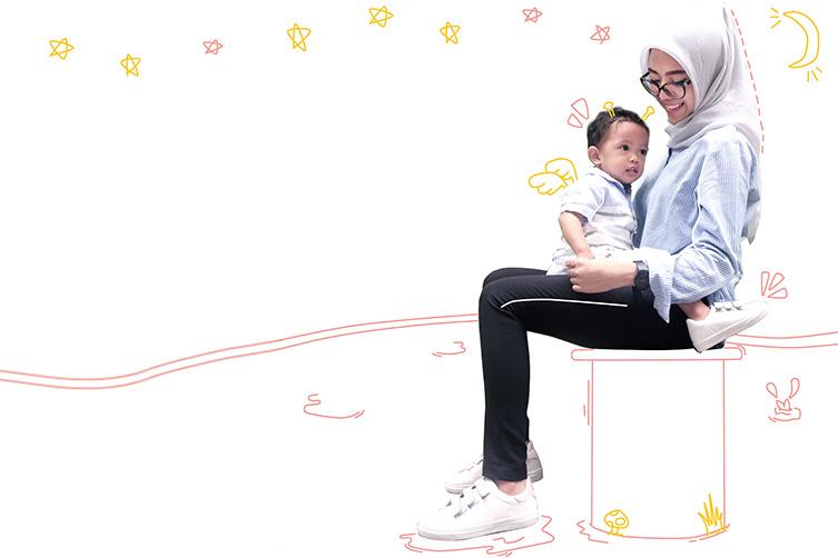 Parenting Sambil Kuliah, Simak Kisah Mahasiswi Cantik Ini Yuk! image