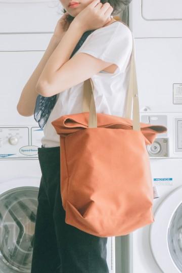 Convertible Bag - Carrot Orange image