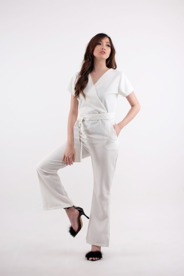 Paloma Jumpsuit in White
