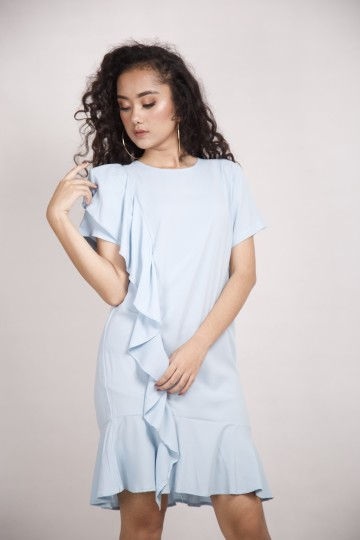 Willonna Dress Baby Blue