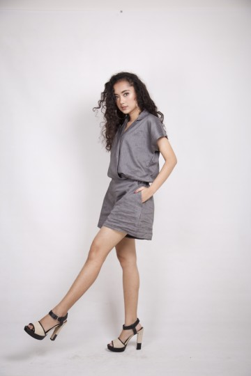 Cornelia Jumpsuit in Grey