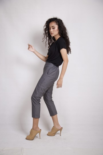 Rayner Ankle Pants in Grey