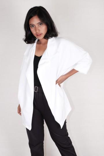 Biondy Blazer in White