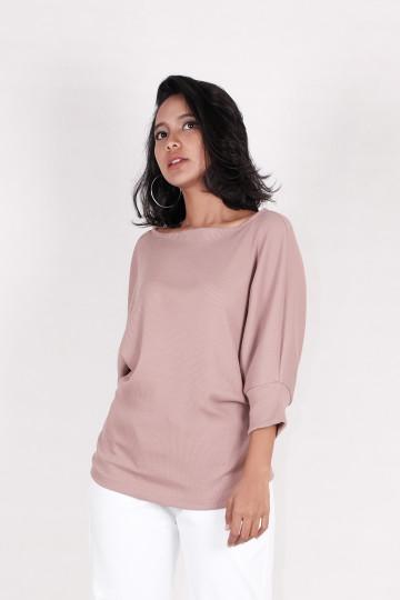 Kay Knit Sweater in Dusty Pink