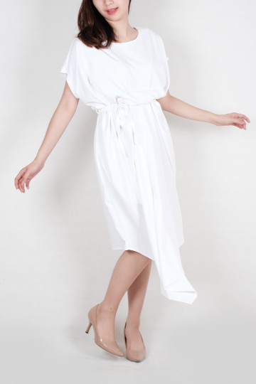 Kayra Kaftan Dress in White
