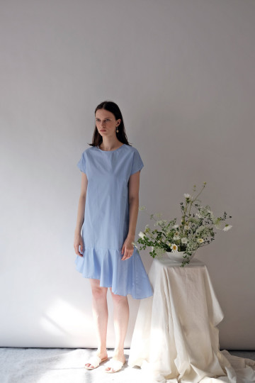Blue Margo Dress