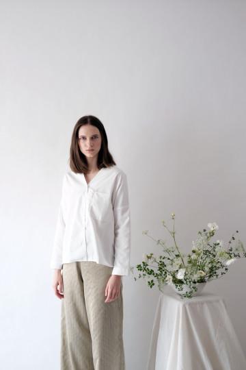 White Dylan Shirt