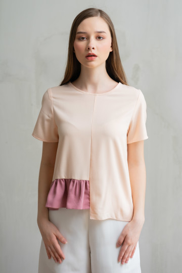 Peach Clover Top