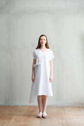 White Skyler Dress