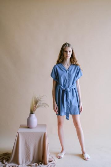Blue Oaklynn Jumpsuit
