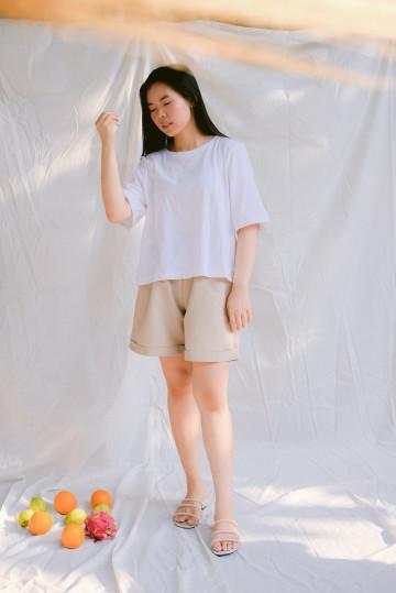 White Salome Top