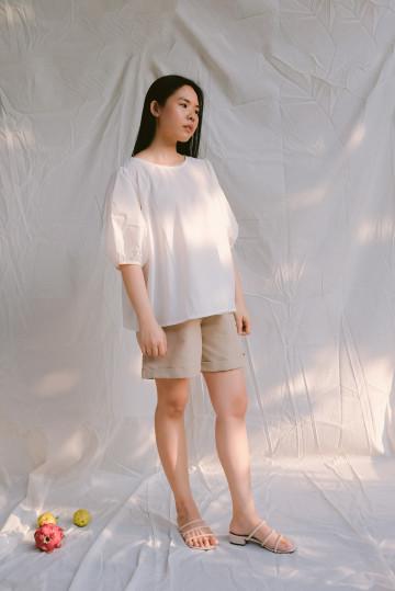 White Miro Top