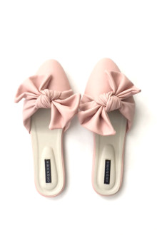 Knot Slippers - Pink Ballerine