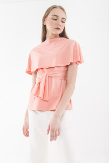 Drea Multiway Top - Peach