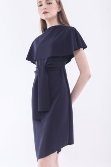 Audrey Multiway Dress - Navy Blue