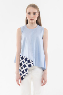 Havana Top - Light Blue