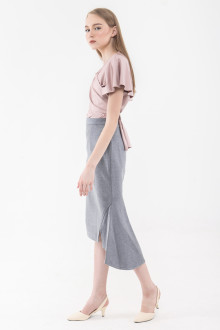 Grey Runner Skirt