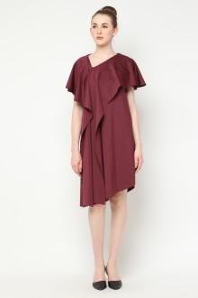 Audrey Multiway Dress - Maroon
