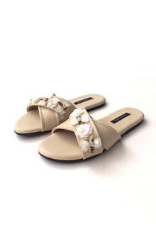Busy Bee Sandals - Beige