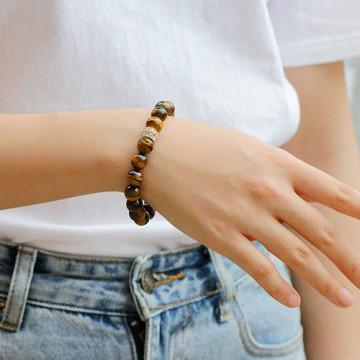 Tiger eye Brown Bracelets