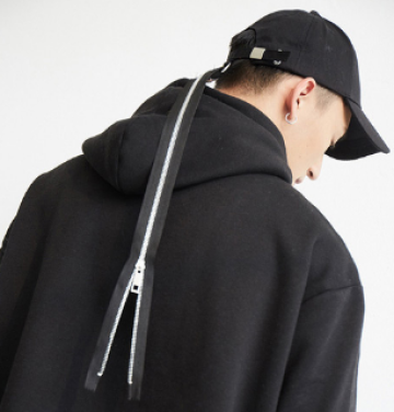 Zipper Tape Hat