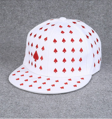 Red Spade hat