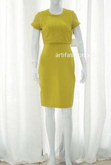 13ad991f167d CALVIN KLEIN SCUBA DRESS WITH HANGTAG image