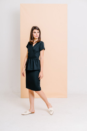 Milla Dress Black image
