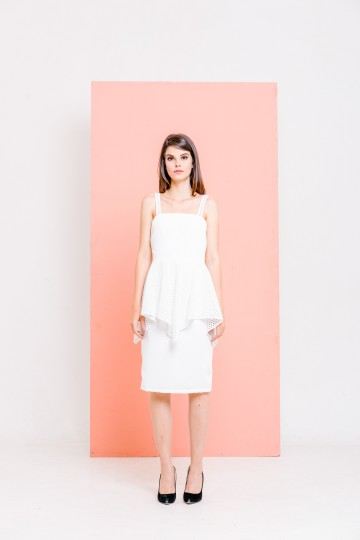 Zenea Dress White image