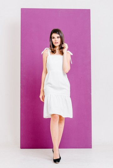 Casia Dress White image