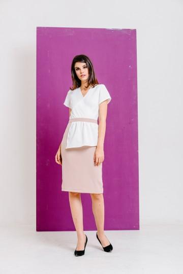 Milla Dress White image