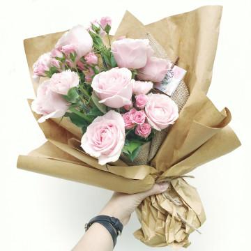 Valentine's Special_Rustic Claire Bouquet image