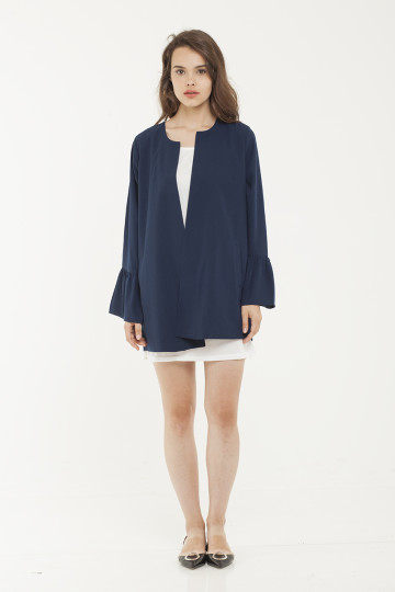 Hillary Outer - Navy