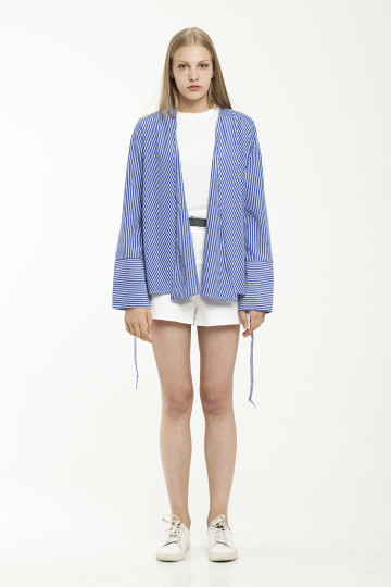 Lona Stripe Outer - Blue