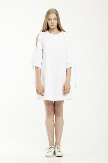 Marielle Cutout Dress - White