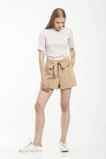 Pax Belted Short - Khaki
