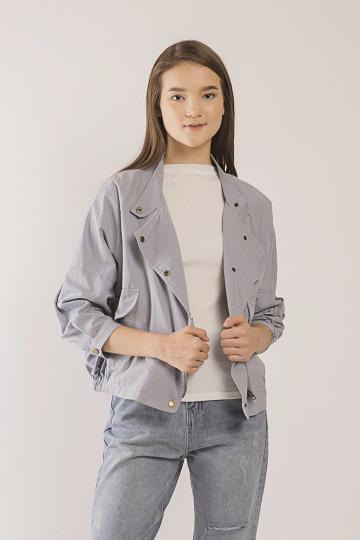 Raine Button- Front Jacket - Blue